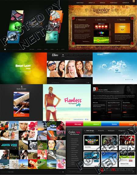10 Flash Template Website K26 P1