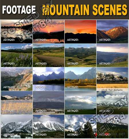 Footage Mountain Scenes VLine