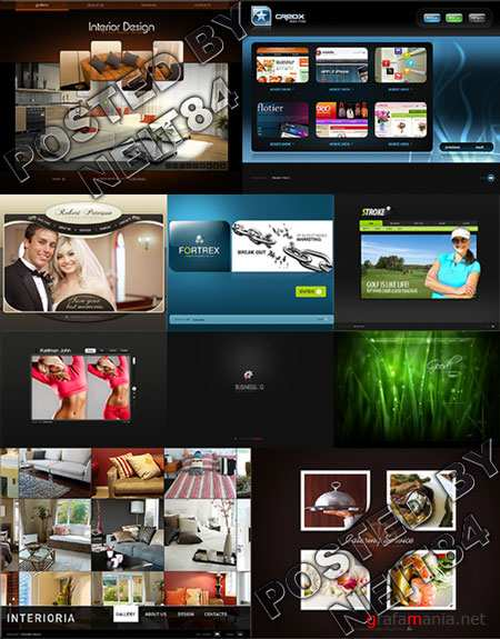10 Flash Template Website K26 P2