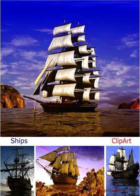 Ships ClipArt stock