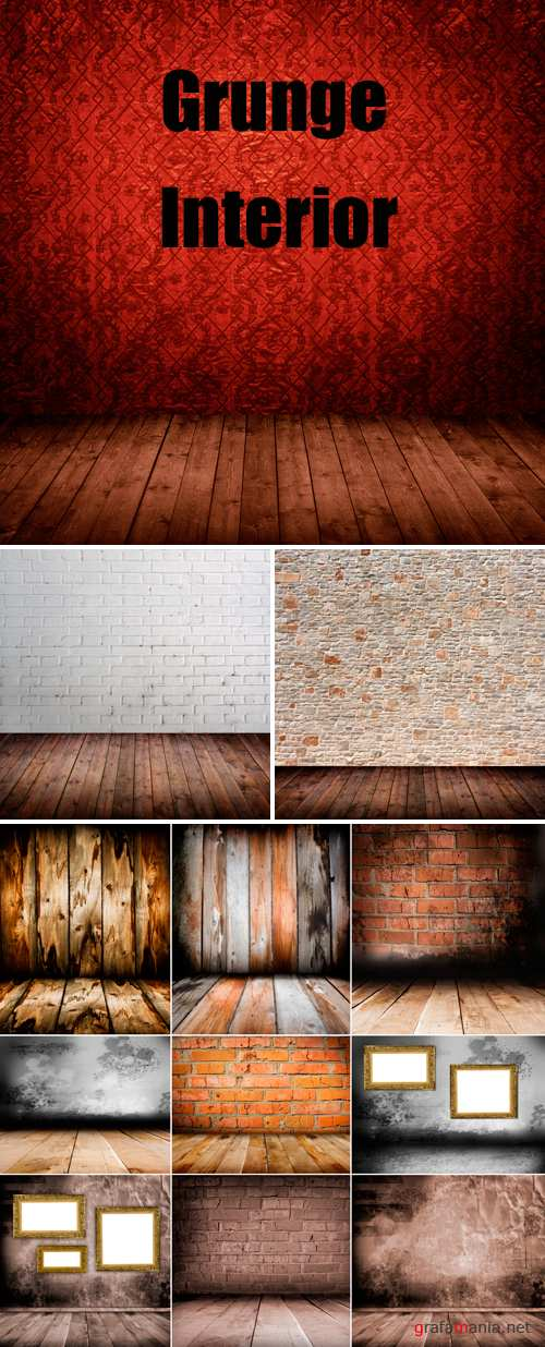 Stock Photo - Grunge Interior 2