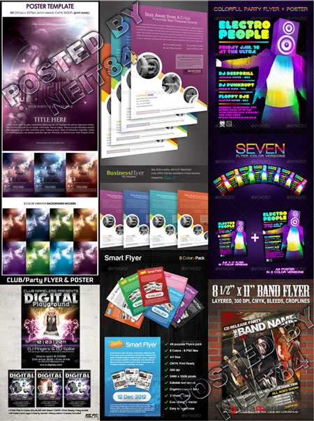 Graphicriver BUNDLE Flyers Templates V5