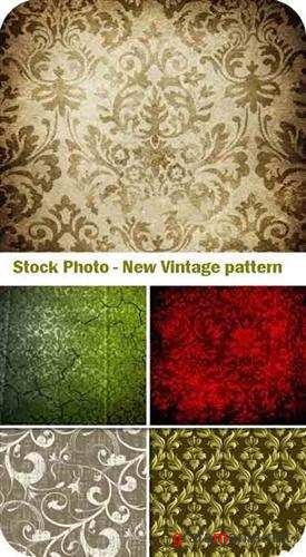 Stock Photo - New Vintage pattern