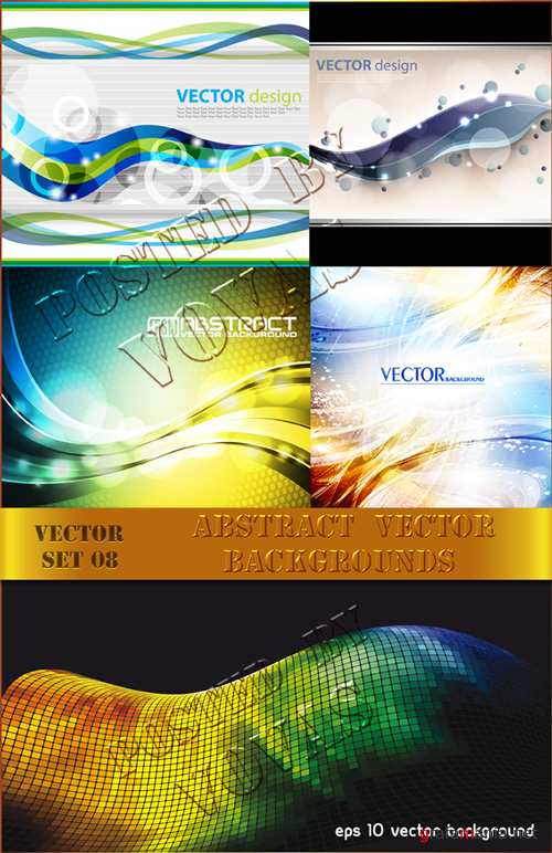 Abstract Vector Backgrounds08