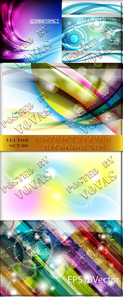 Abstract Vector Backgrounds 09
