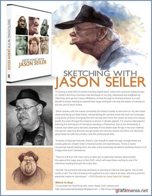 Sketching with Jason Seiler