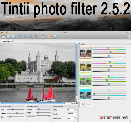Tintii photo filter 2.5.2