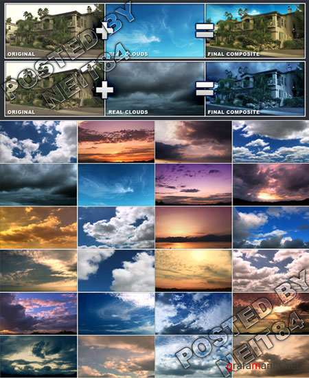 VFX and Moion graphics REAL CLOUDS