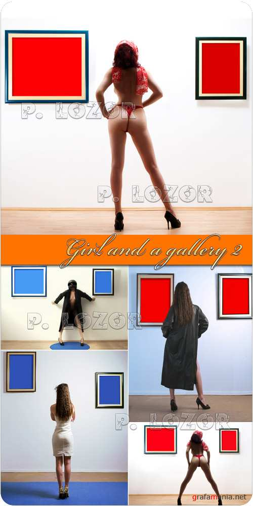 Girl and a gallery 2