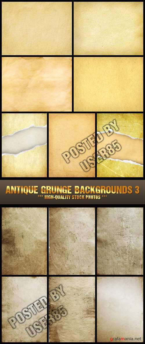 Stock Photo - Antique Grunge Backgrounds 3