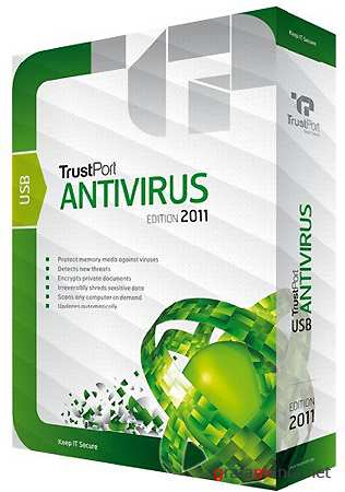 TrustPort USB Antivirus 2011 v.11.0.0.4615 Final / RU / 2011