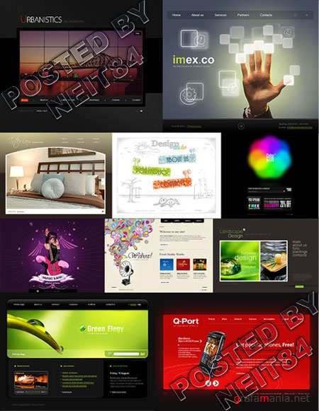 10 Flash Template Website K27 P1