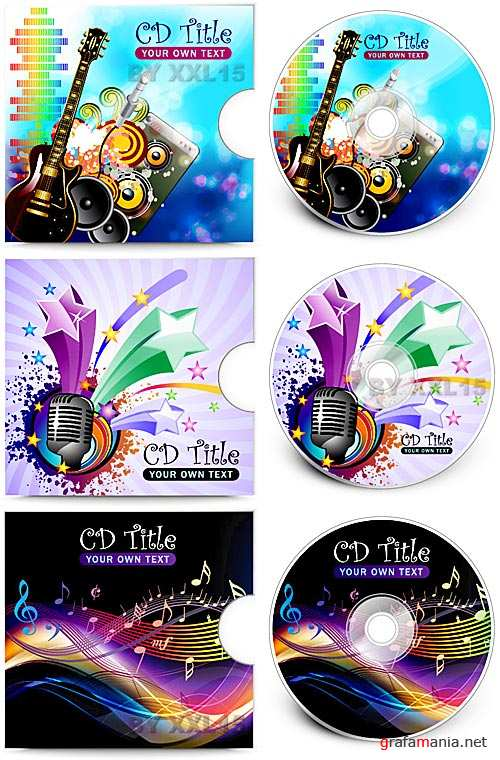 CD cover templates