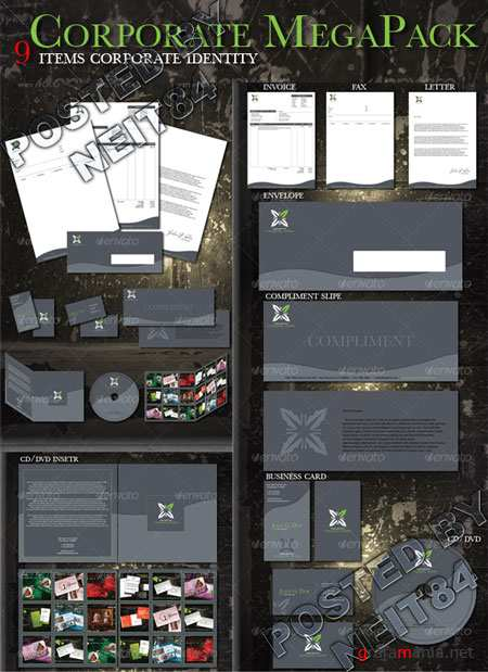 Graphicriver Corporate Mega Pack 92035