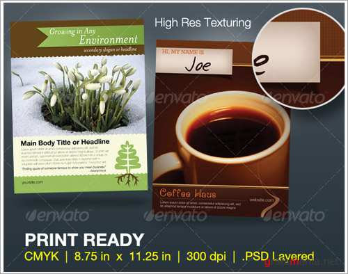 Full Page Magazine Ad or Flyer Templates - GraphicRiver