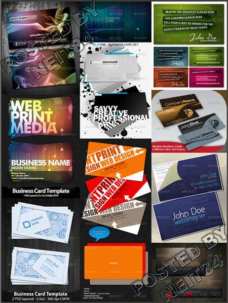 Graphicriver Ultimated Master Business Cards V2