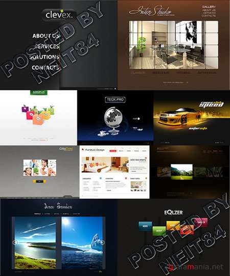 10 Flash Template Website K27 P3
