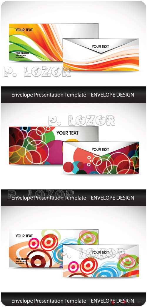 Template envelope vol.4