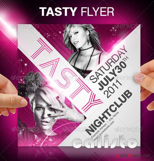 Tasty Party Flyer - GraphicRiver