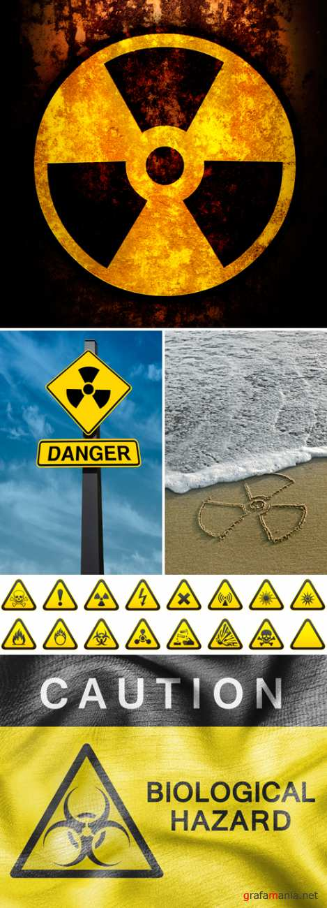 Stock Photo - Radiation Sign
