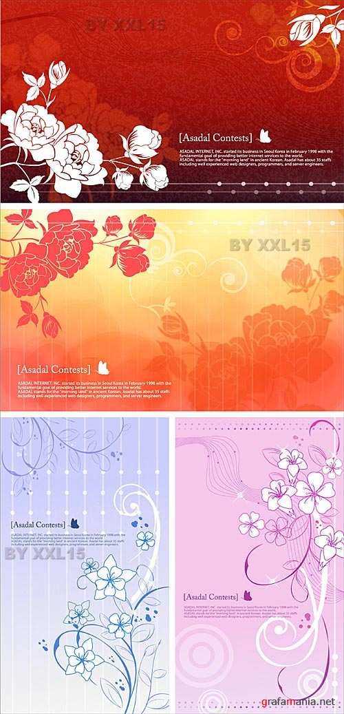 Flower backgrounds 9