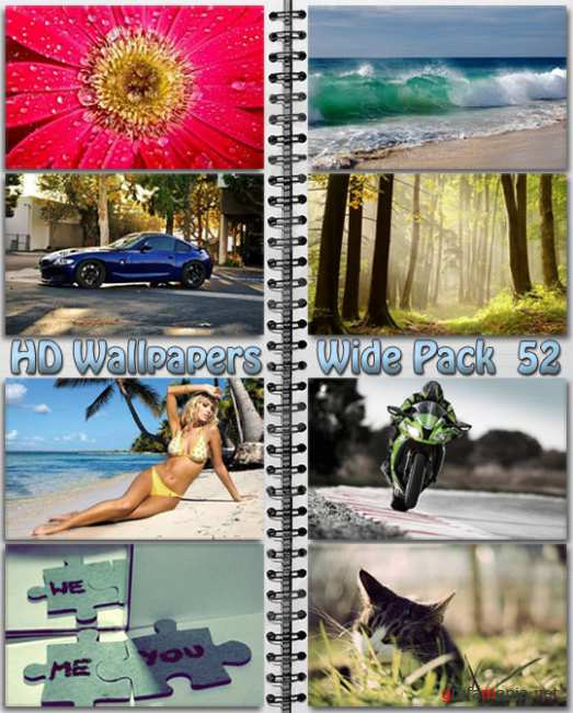 HD Wallpapers Wide Pack №52