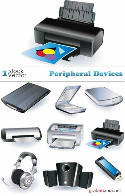 Peripheral Devices Vector