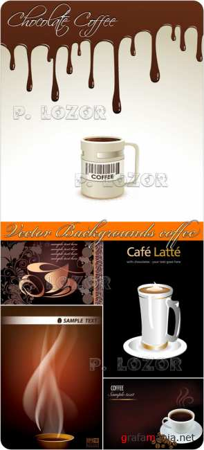 Vector Backgrounds coffee
