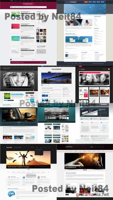 Templates Website Dynamic CSS in March P4