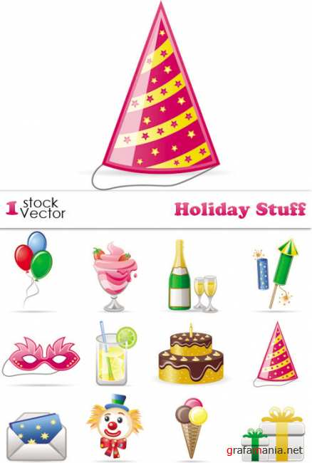 Holiday Stuff Vector