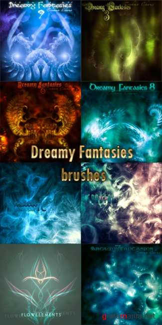Dreamy Fantasies brushes