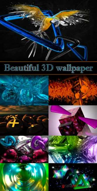 Beautiful 3D wallpaper