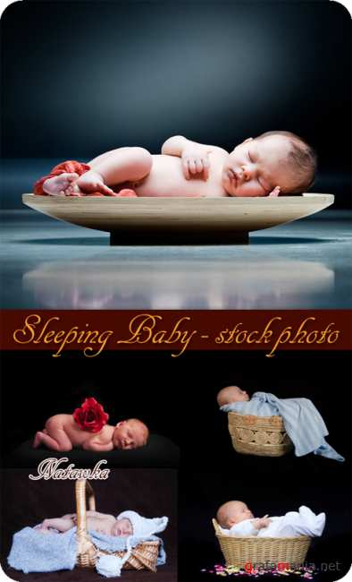 Дети. Sleeping Baby - Stock Photos