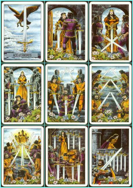 ����� ���� (������� ������)  Arcus Arcanum Tarot  (Mirror of Destiny)