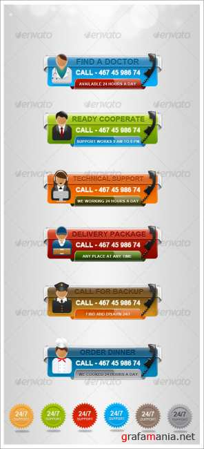 Fast Information Banners - GraphicRiver