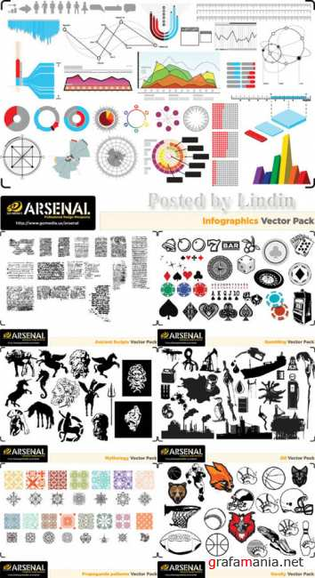 Go Media's Arsenal — Complete Vector Set 18