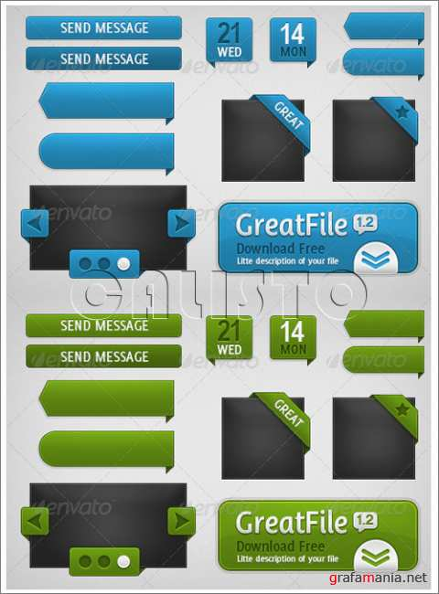 Web Elements Collection - GraphicRiver