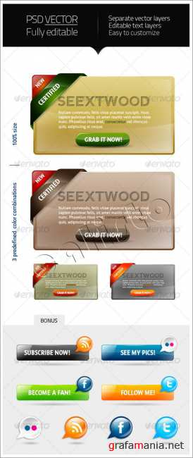 Seextwood - webelements 5 - GraphicRiver
