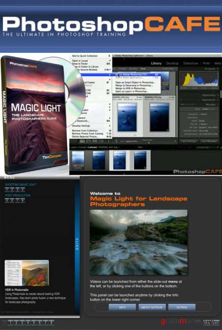 PhotoshopCAFE - The Landscape Photographers Guide to Magic Light