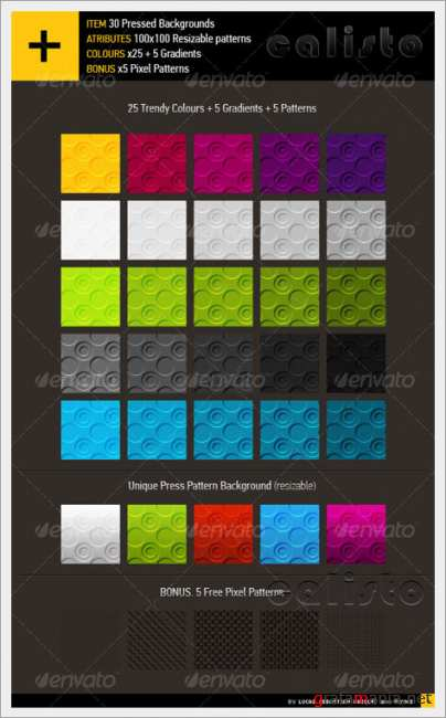 Dot Press Backgrounds – GraphicRiver