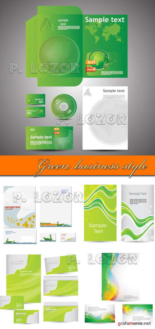 Green business style