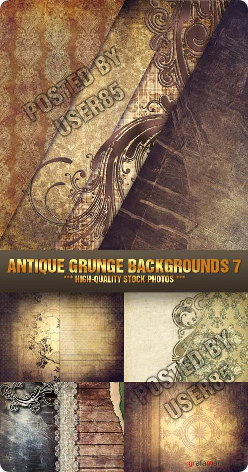 Stock Photo - Antique Grunge Backgrounds 7