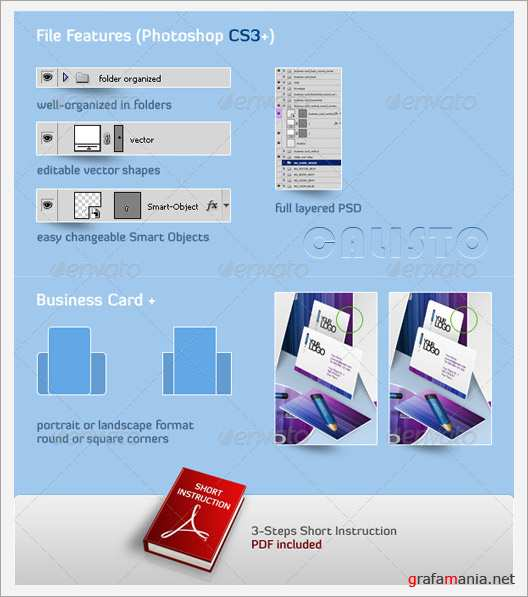 Business Stationery  3D Mock-Up GraphicRiver