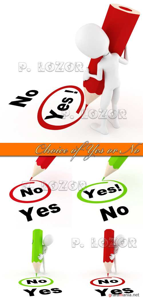 Choice of yes or no