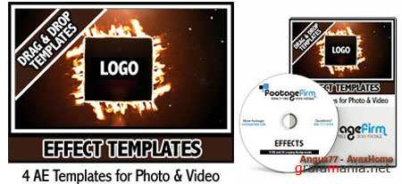AE Footage Firm Effects Templates