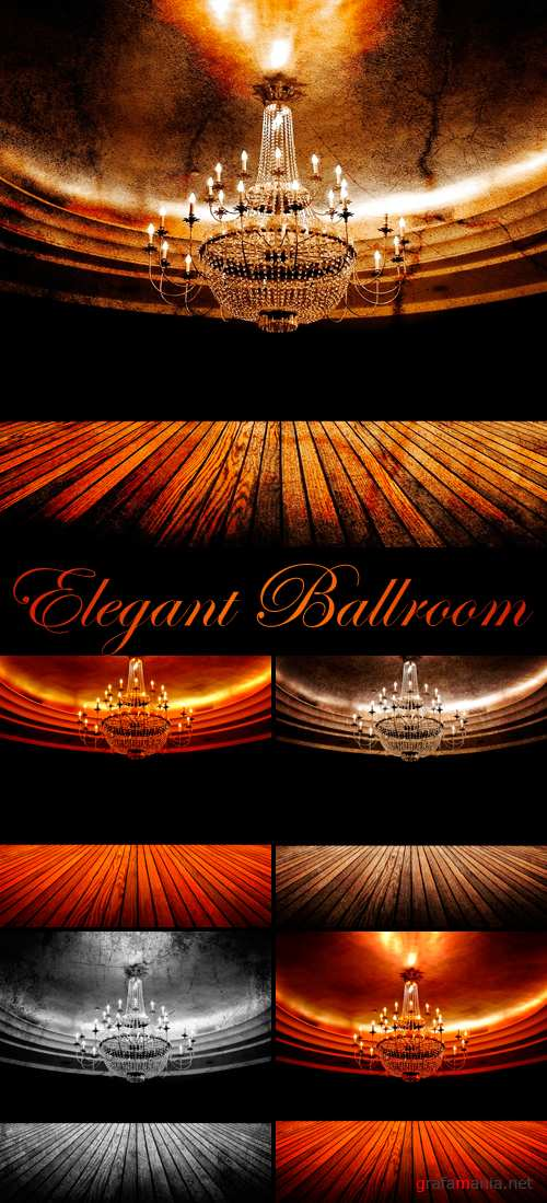 Stock Photo - Elegant Ballroom