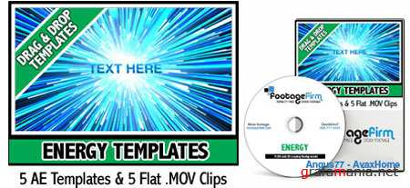 AE Footage Firm Energy Templates