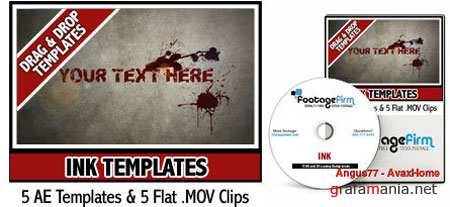 AE Footage Firm Ink Templates
