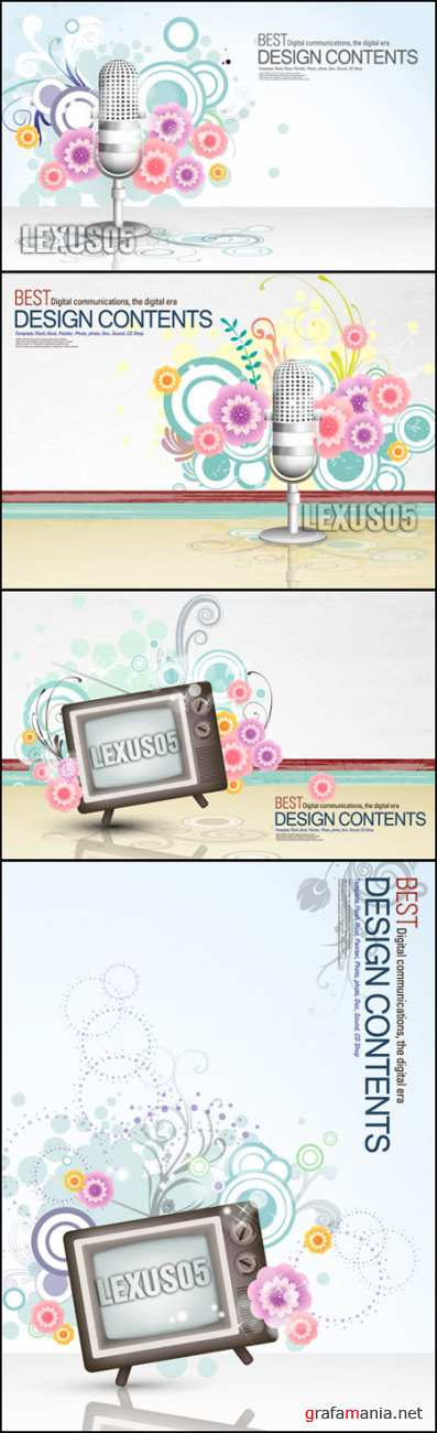 Digital Communication Backgrounds