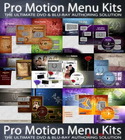 Precomposed - Pro Motion Menu Kit 01 - 07 (Full)